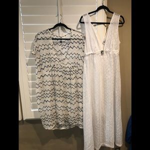 Bundle of 2 pool/beach cover-ups